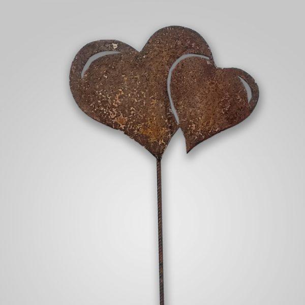 Gartenstab Herz